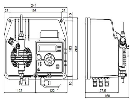 BT-MAAD dimensions