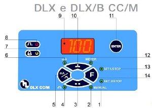 DLX CC/M dosing pump controls