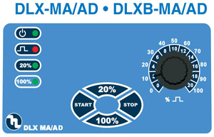 DLX MAAD controls