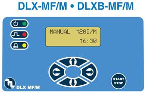 DLX MF/M dosing pump controls