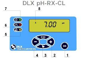 DLX CD/M dosing pump controls