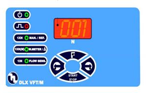 DLX VFT/M dosing pump controls