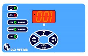 DLX VFT/MB dosing pump controls
