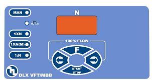 DLX VFT/MBB dosing pump controls
